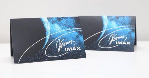 Hetkel loosis uue IMAX kino piletid :)