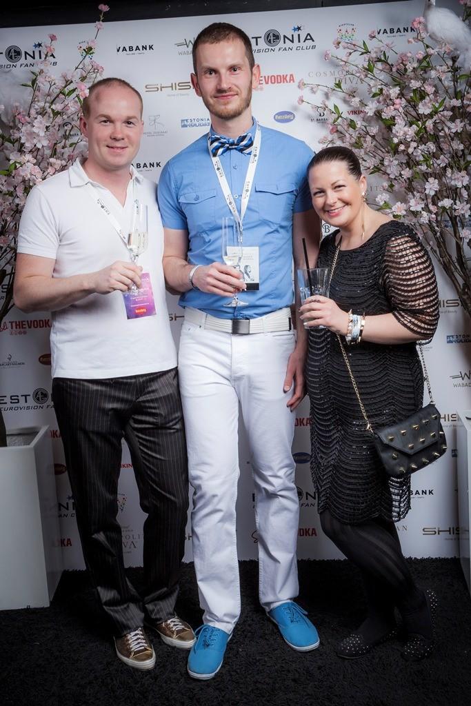 OGAE Estonia presidendiga :)   foto: Kristjan Lepp
